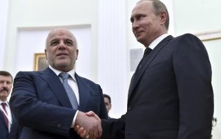 Russian Support Iraq against ISIS