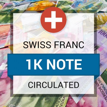 Customer Sale - Swiss Franc